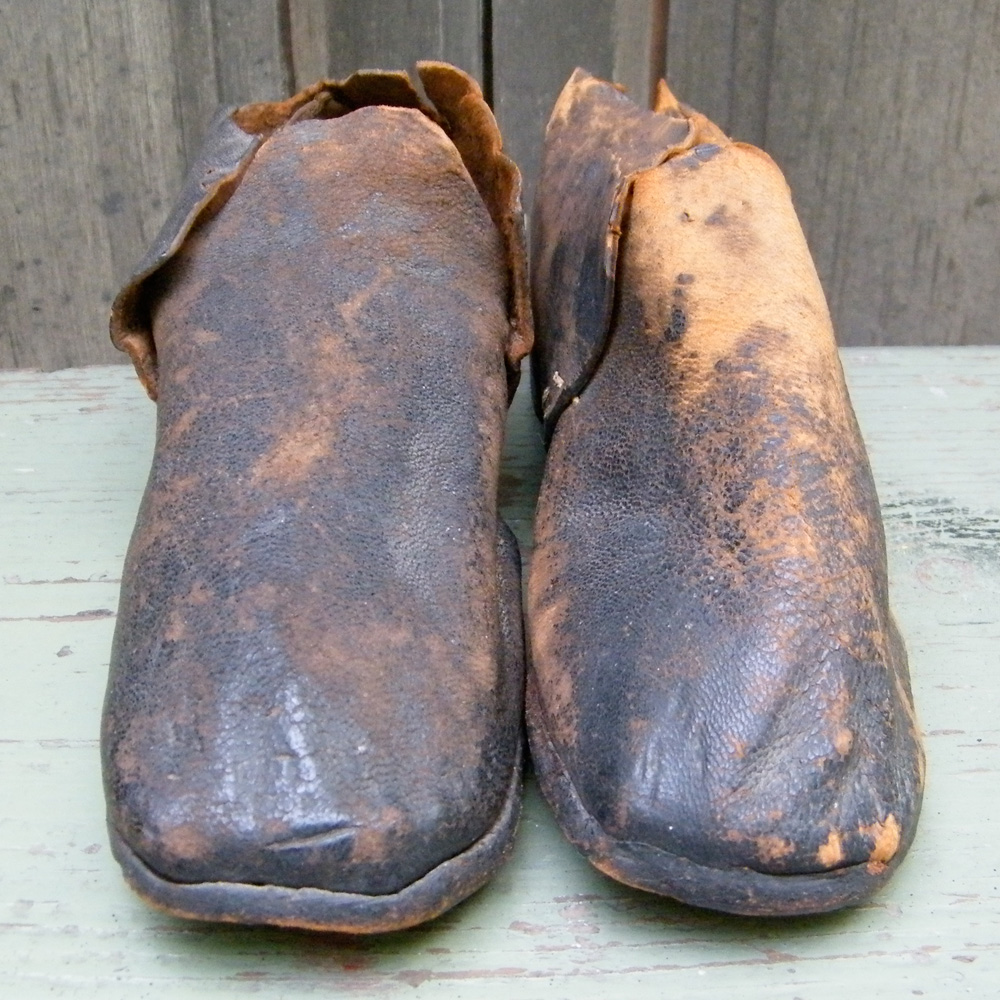 Antique Shoes Fromthe Brown Shoe Company